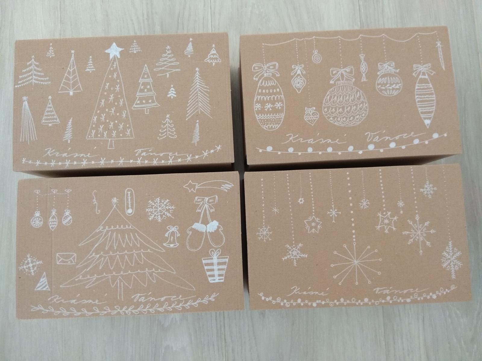 Když tvořím podle něčeho, aneb moje DIY - Krabičky na cukroví pro známé