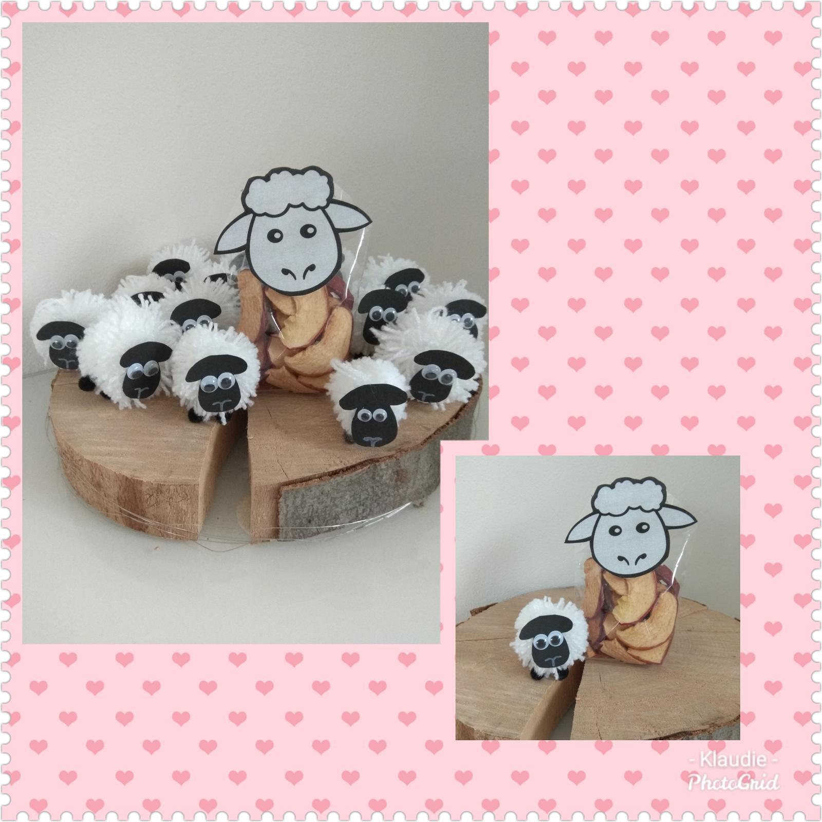 Když tvořím podle něčeho, aneb moje DIY - Do třídy oveček pro děti místo sladkosti.