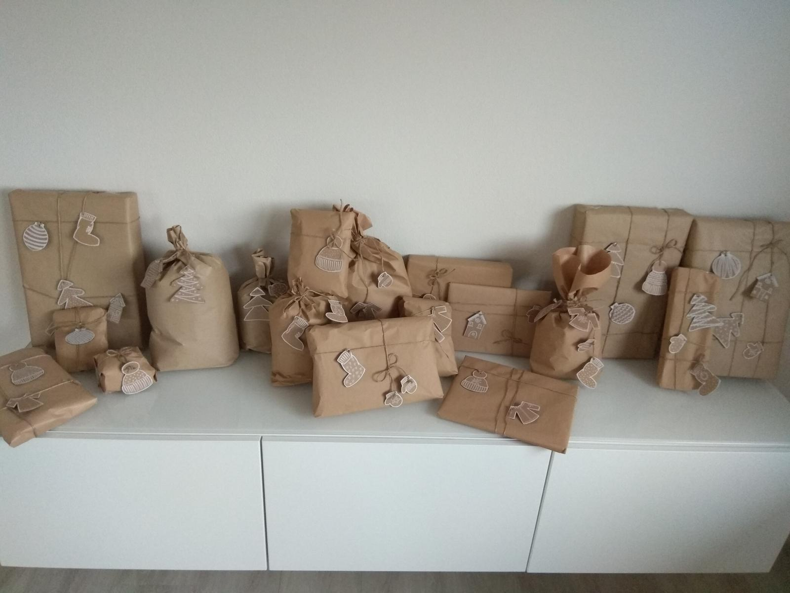 Když tvořím podle něčeho, aneb moje DIY - Letošní podoba dárků,  s papírovými perníčky