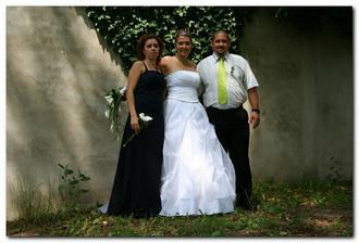 Irena, Tereza a Béda ( ještě před chvíli jsme byli všichni Fiedlerovi :o) )