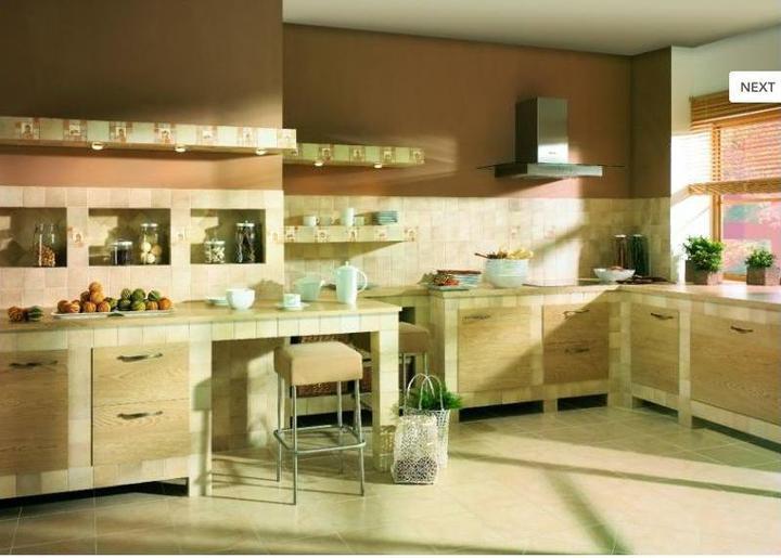 Kuchyně - proti zděné kuchňské lince bych taky nic neměla