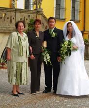 naše zelená svatbička 16.9.2006 - pro Vaši inspiraci