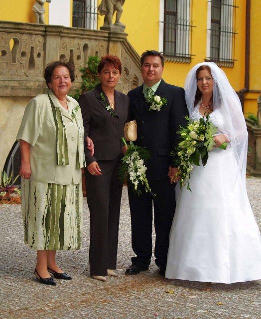 Zelená svatba - naše zelená svatbička 16.9.2006 - pro Vaši inspiraci