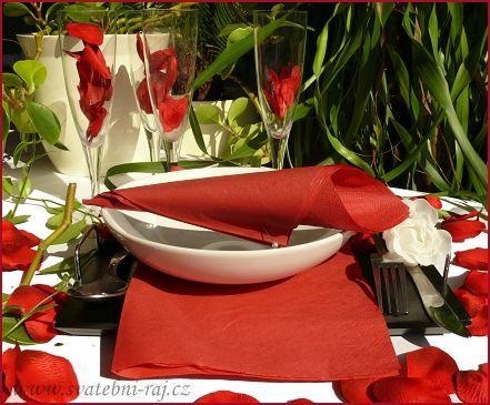 Dekorace stolu detaily - Obrázek č. 62
