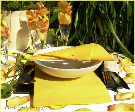 Dekorace stolu detaily - Obrázek č. 63