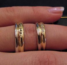 Naše prstýnky - detail