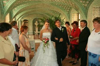 Novomanželé Mácovi...:-)