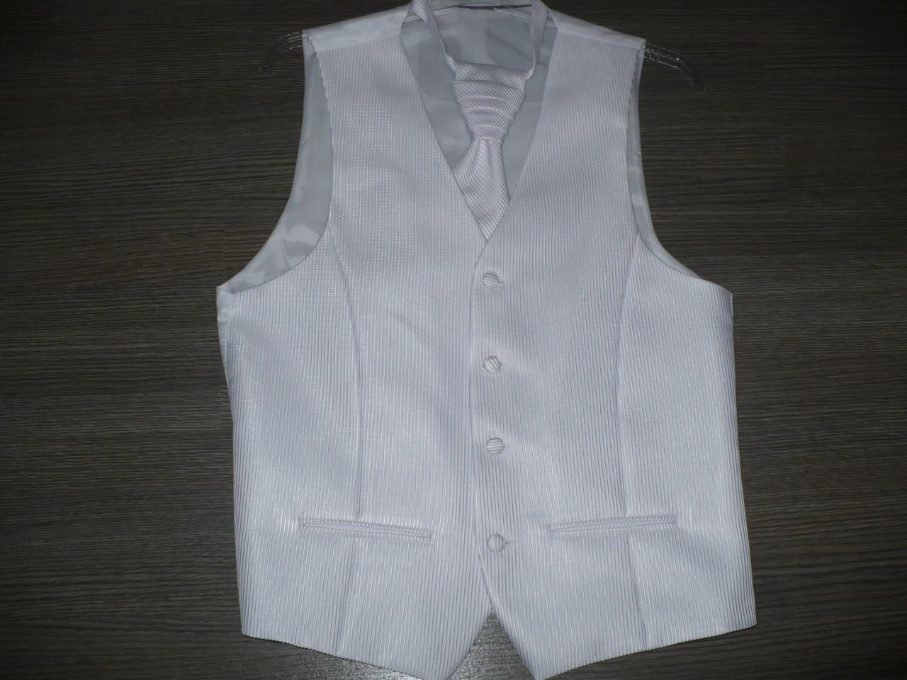 Pánska vesta s francúzskou kravatou - Obrázok č. 4
