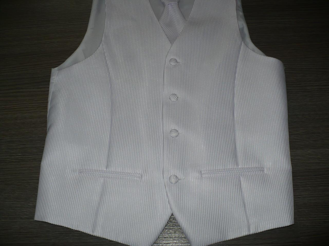 Pánska vesta s francúzskou kravatou - Obrázok č. 2