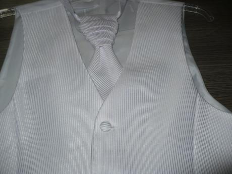 Pánska vesta s francúzskou kravatou - Obrázok č. 1