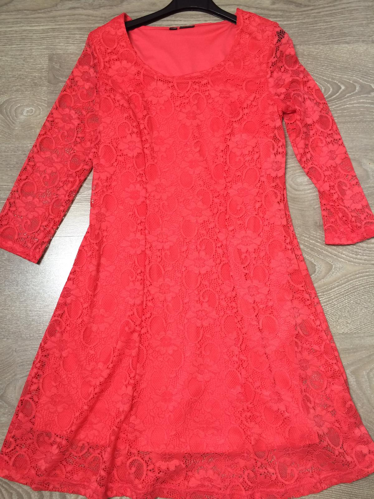 Korálové šaty - Obrázok č. 1