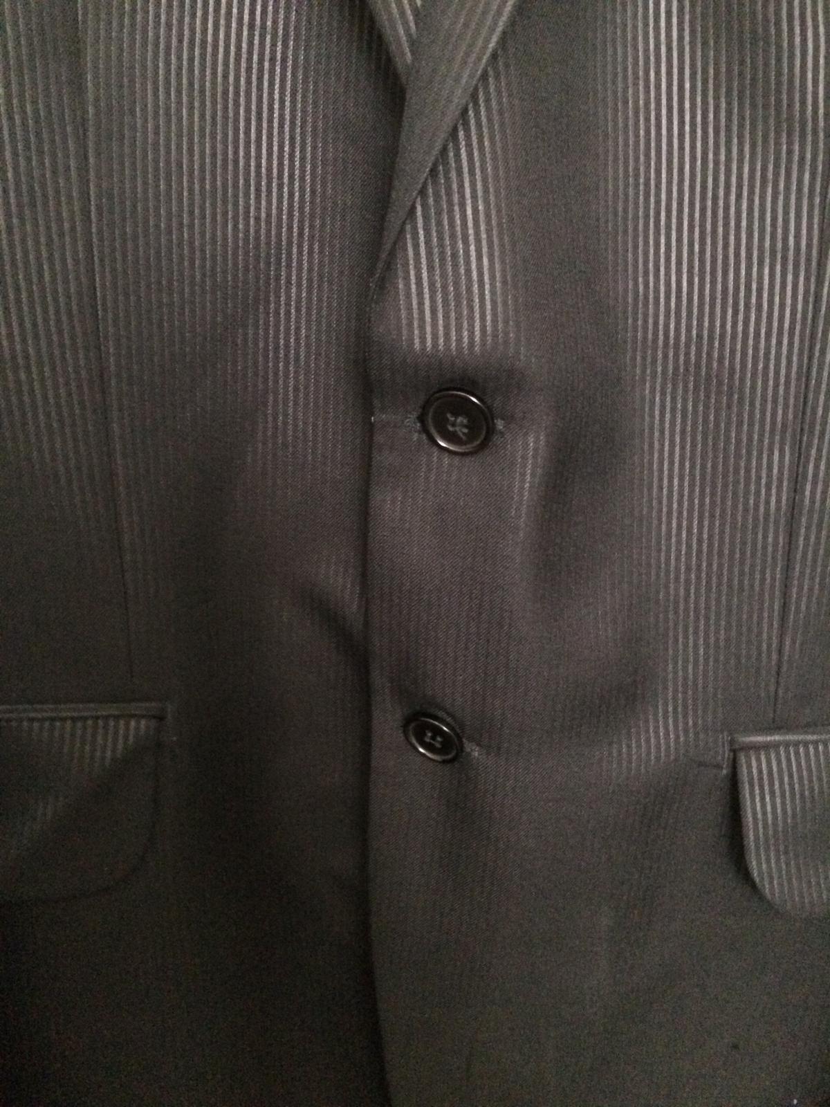 Pánsky čierny oblek - Obrázok č. 3