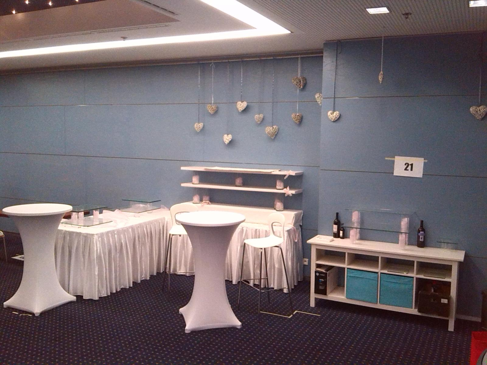 Přípravy - Svatební veletrh Clarion 15.-16. 1. 2016 - Obrázek č. 3