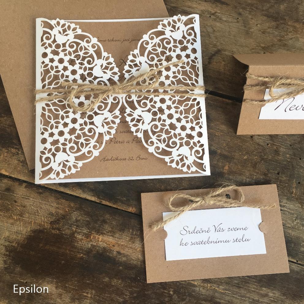 epsilon_praha - Krásné svatební oznámení 2109