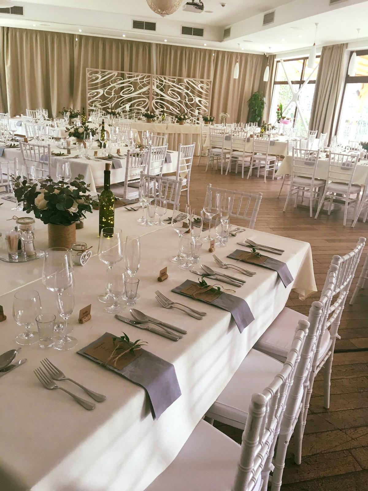 11 kytíc na svadobné stoly + darček - Obrázok č. 3