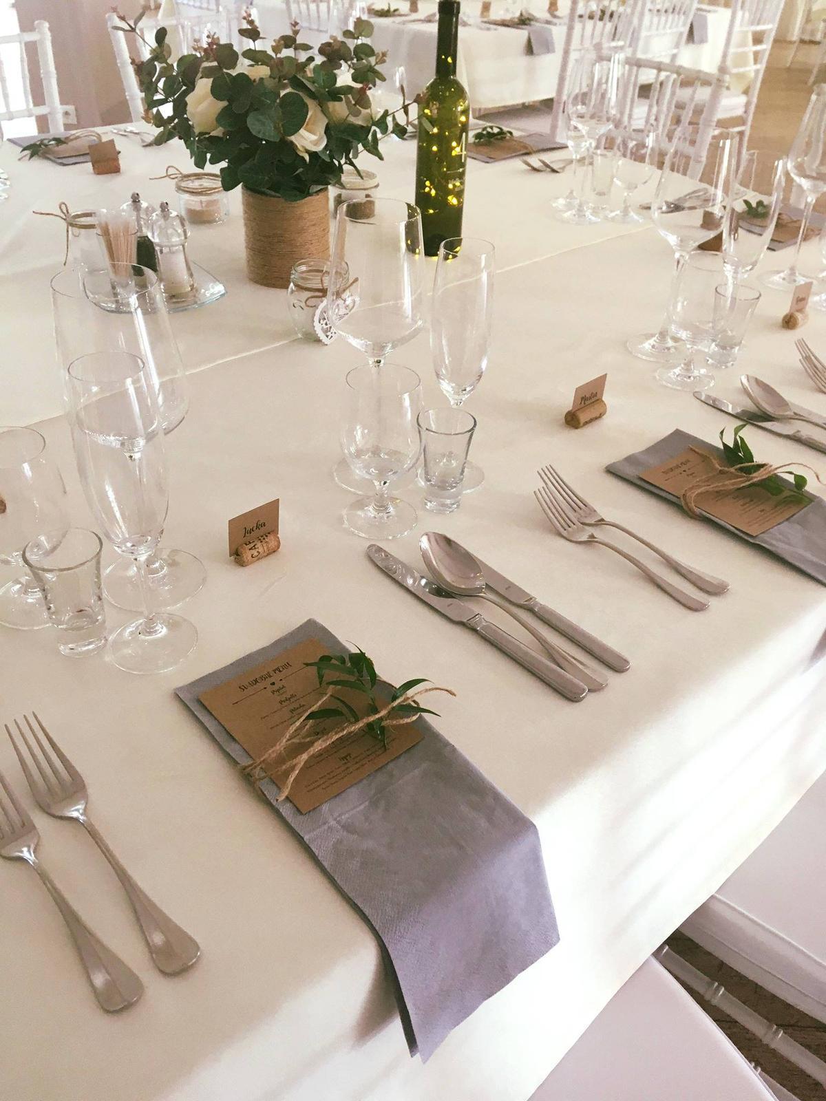 11 kytíc na svadobné stoly + darček - Obrázok č. 4