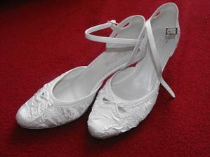 moje svadobné topánky