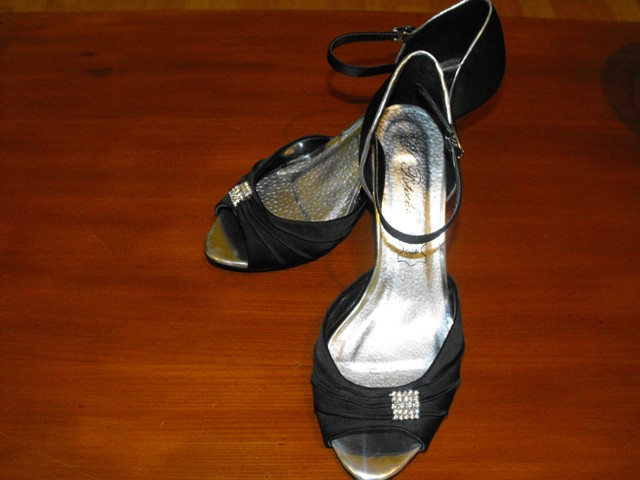 Prípravy - moje topánočky po polnoci