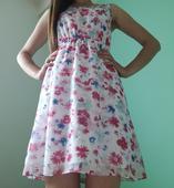 Krátke spoločenské šaty, XS