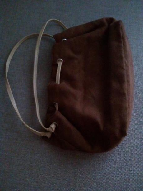 Semišová kabelka - Obrázok č. 1