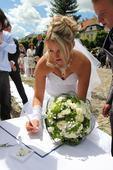 svatební pero,