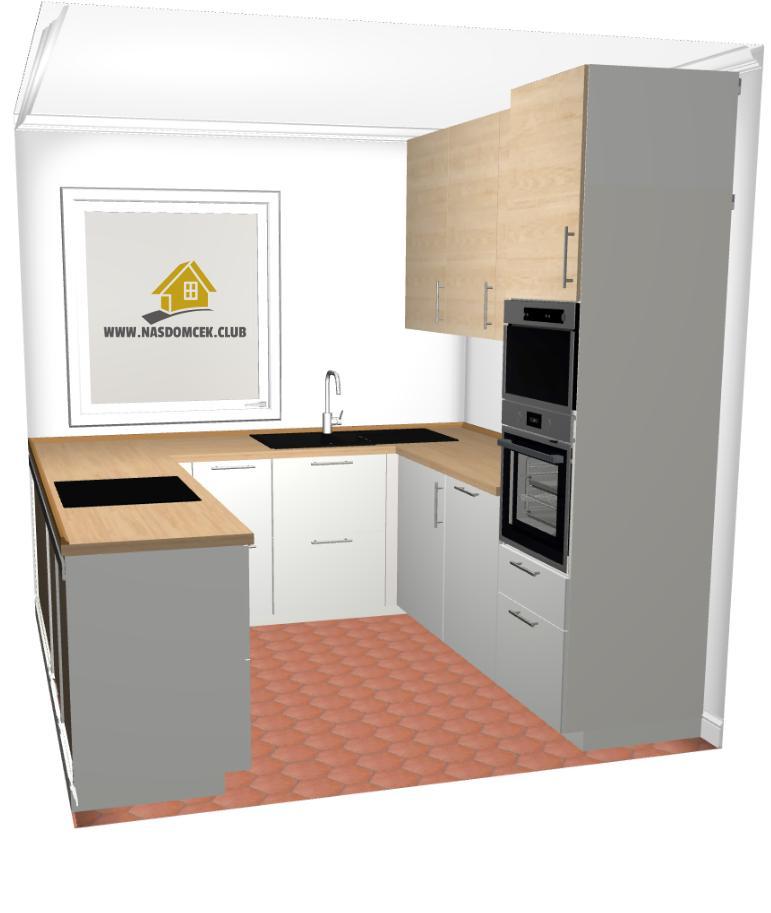 NasDomcek Class1 - navrh kuchyne