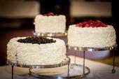 Stojan na svatební dort,