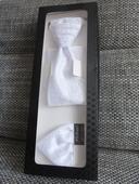 Svadobná kravata - regata + vreckovka do saka,