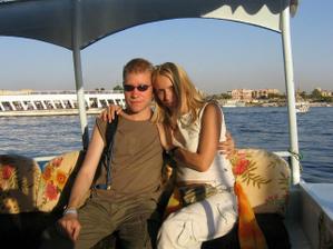 a něco ze svatební cesty v Egyptě...plavba po Nilu