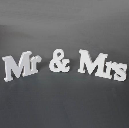 označenie mr & mrs - Obrázok č. 1
