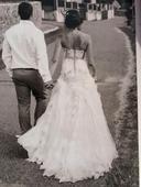 svatební šaty od terezy sabáčkové, galia lahav, 36