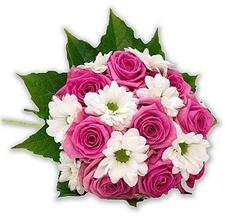 nebo růže ve stejné barvě