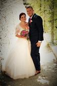 Svatební saty 38, 38