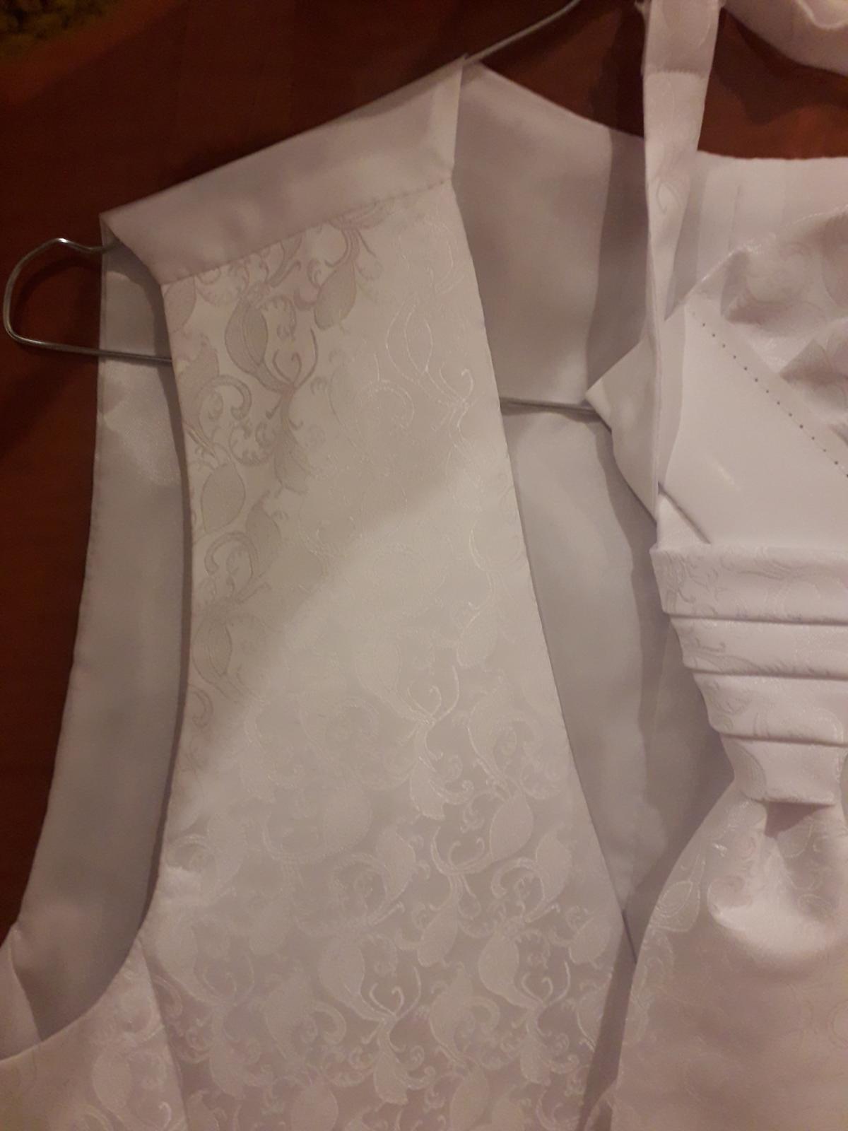 Vesta kravata a vreckovka - Obrázok č. 2