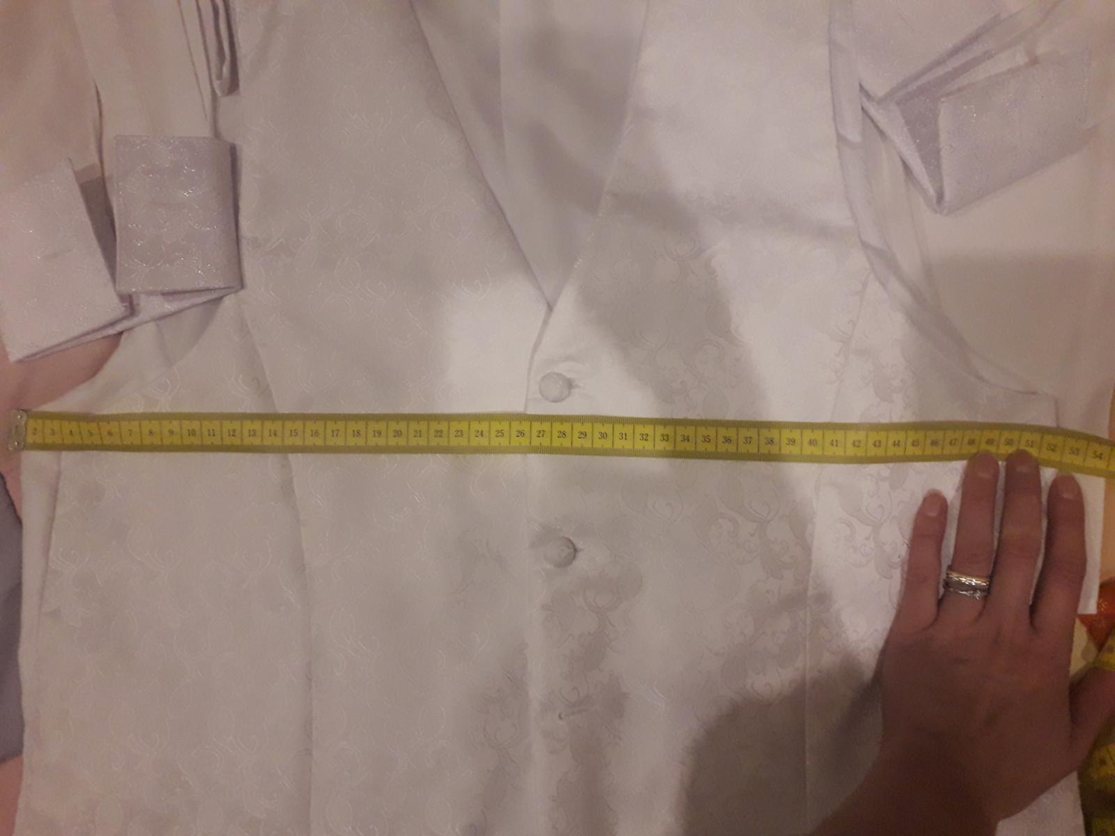 Vesta kravata a vreckovka - Obrázok č. 3