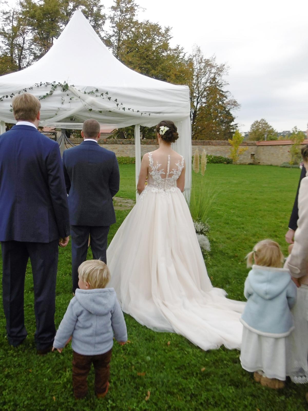 Svatební šaty Elody (model 105 Linda) - Obrázek č. 3