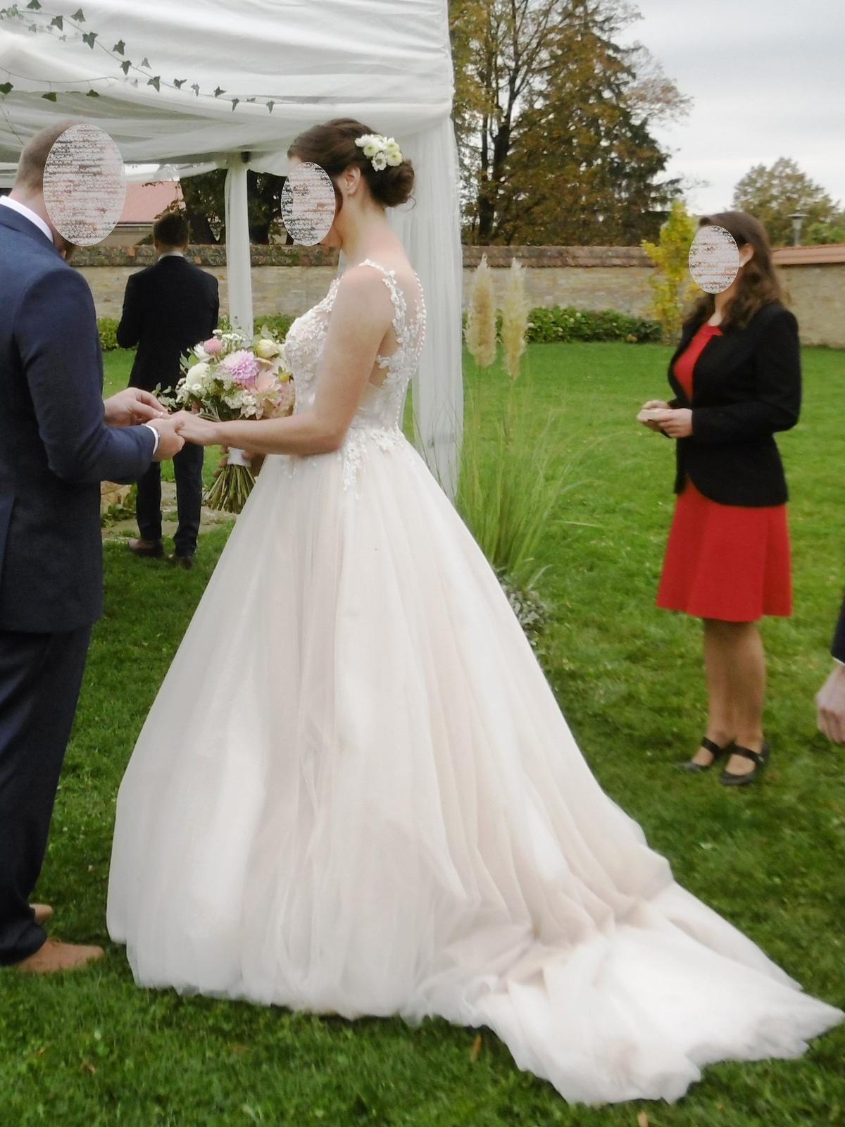 Svatební šaty Elody (model 105 Linda) - Obrázek č. 4
