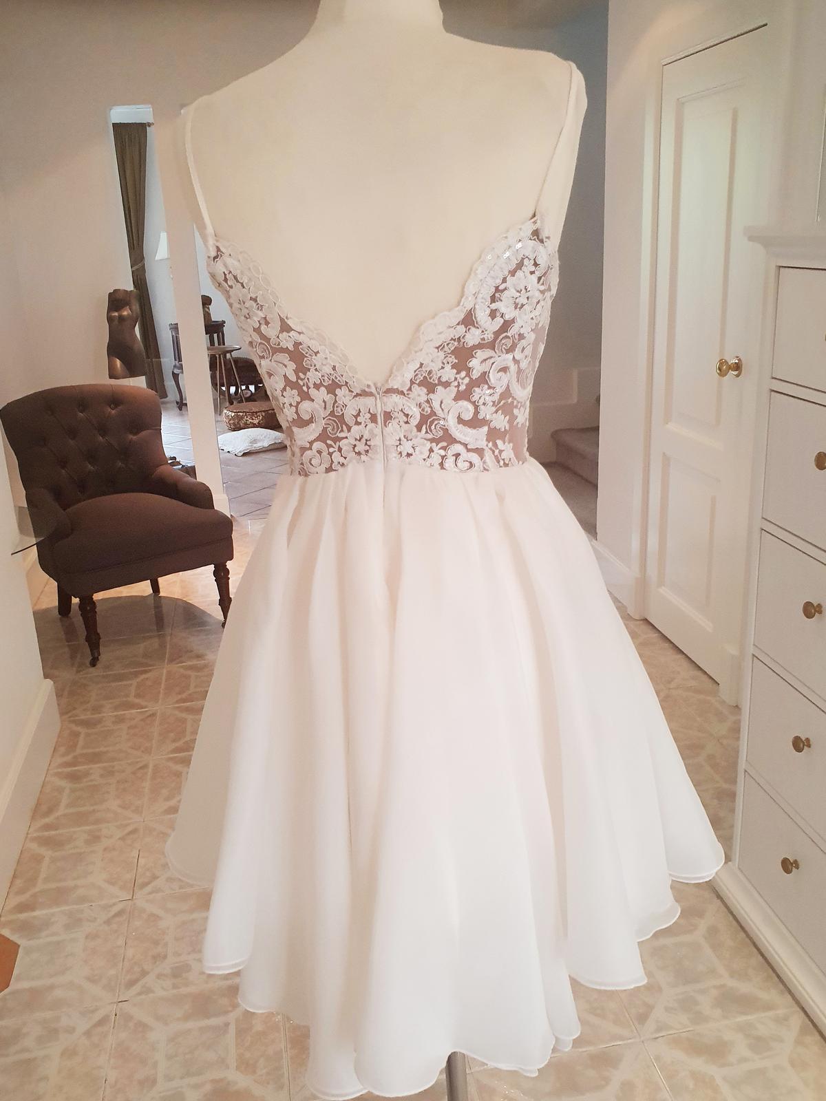 Popolnočné šaty, veľkosť 36 - Obrázok č. 2