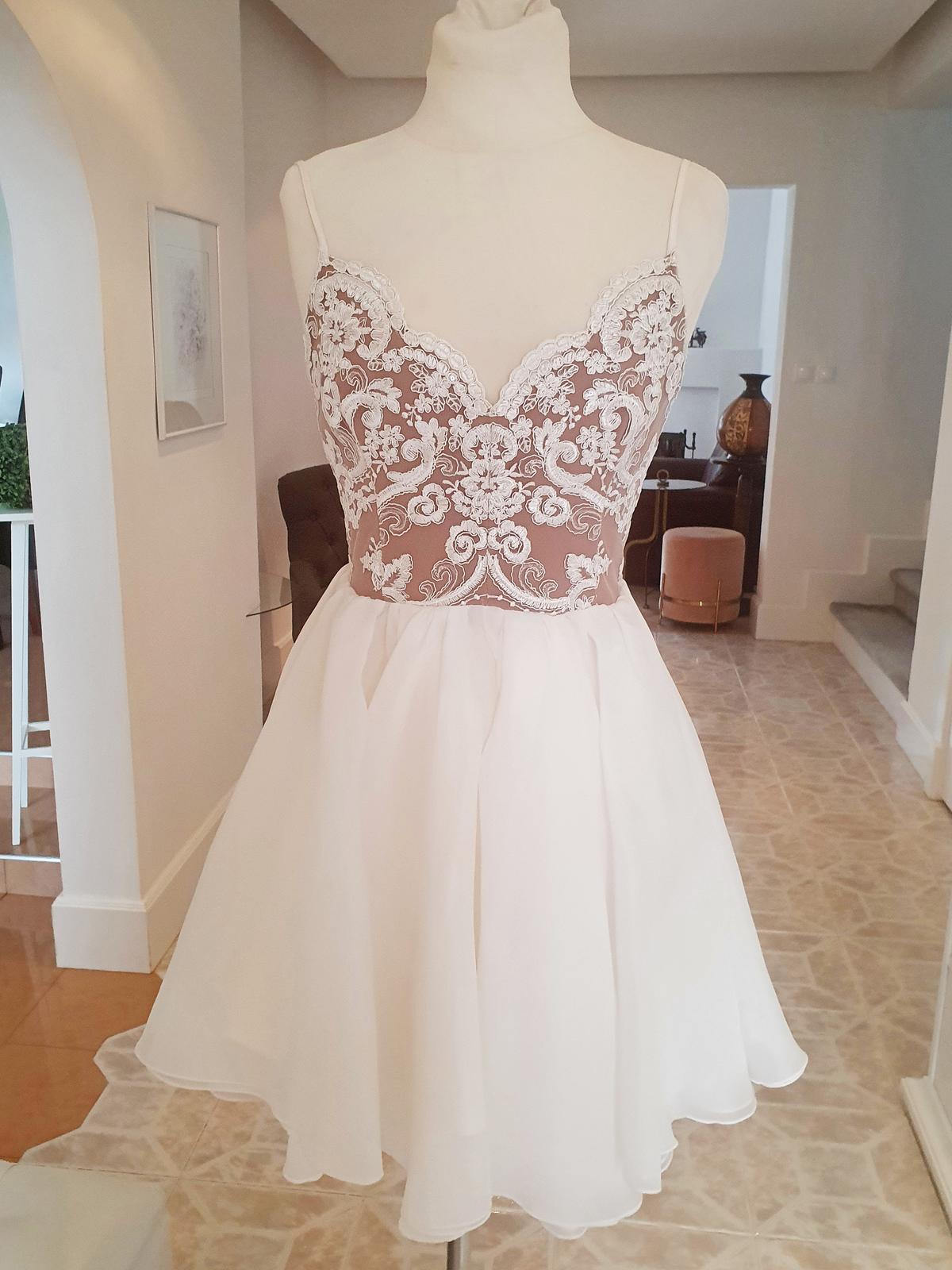 Popolnočné šaty, veľkosť 36 - Obrázok č. 3