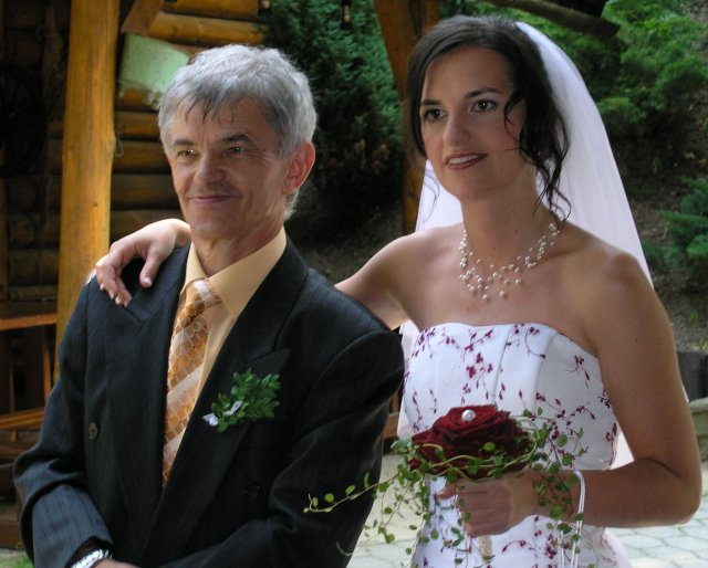 Pavlínka + Jiří{{_AND_}}Pavla + František - Hrdý otec:)..