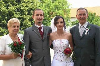 S rodiči od ženicha..