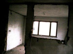 spojenie kuchyne s vtedy vedlajsou izbou