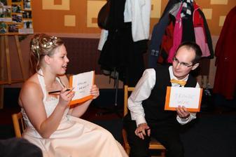 otázky na novomanželé