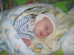 Vítek narozeny v Přerově 20.8.2012. 2400g a 46 cm