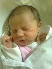 Narodila jsem se 22.11.2010. Váha 3260g a 50 cm.