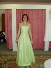 Moje svědkyně - zkouška šaty č.1