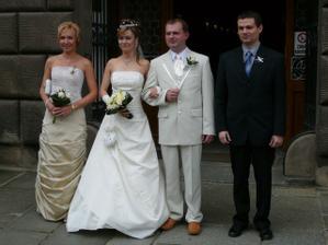 Nevěsta, ženich, svědkové