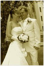 Novomanželé.