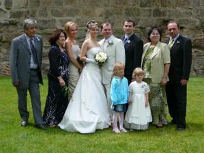 Ženich, nevěsta, svědkové a rodiče