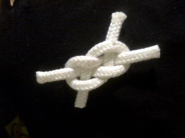 Přípravy a tvoření - vývazky po námořnicku